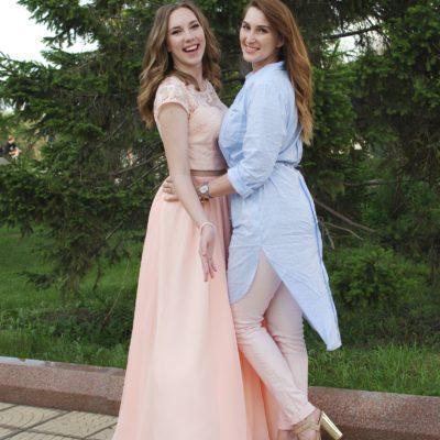 Вечернее платье и летняя туника